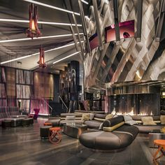 The city once famed as the birthplace of grunge has hammered the final nail in that particular scene's scruffy coffin with the W Hotel's distinctly polished new food and drink venues...