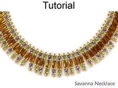 Beaded Patterns Necklace Tutorials Jewelry Making #jewelrymaking