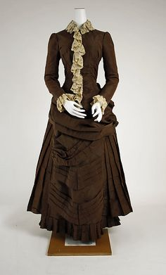 1882 Wedding Dress via MMA.
