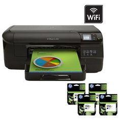 Impressora HP OfficeJet Pro 8100 Jato de Tinta ePrinter Wireless