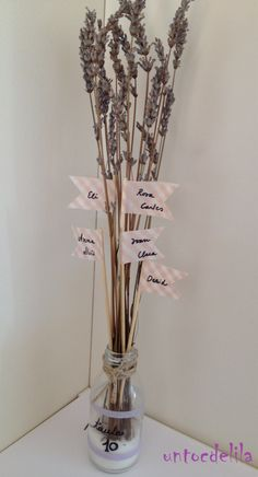 banderetes + espígol Diffuser, Lilac