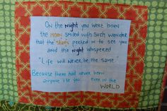 Handsome Baby Boy Quilt Label by willowbeancreations, via Flickr