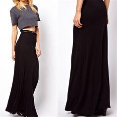 Jupe Longue 6XL 7XL Plus size Women Long Maxi Skirt High Waist Bodycon Pencil Saia Longa Summer Femininas Faldas Skirts