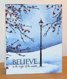 'Especially for You' 2015 nouvelle collection de Penny Black Berry Bevy 40-412 et Beleive  30-310