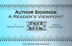 Author Signings: A Reader's Viewpoint