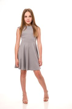 Explore a selection of dresses for tween girls in a variety of colors and shapes for that perfect party coming up, bat mitavah, cotillion, graduation, or casual event. Cute Dresses, Dresses For Work, Dresses With Sleeves, Preteen Girls Fashion, Girl Fashion, Bikinis For Teens, Beautiful Young Lady, Cute Girl Outfits, Girl Photography Poses