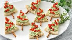 Easy Christmas Party Food Ideas and Recipes All About Christmas . Easy Christmas Party Food Ideas and Recipes All About Easy Christmas Creative Christmas Food, Christmas Party Food, Xmas Food, Christmas Buffet, Christmas Trees, Beach Christmas, Xmas Tree, Christmas Appetizers, Appetizers For Party