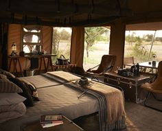 Singita Sabora Tented Camp-AFRICA