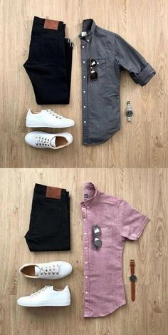men's fashion grey men's adidas sneackers outfit with style men's fashion style outfit and outfit grids inspirations style grid for men fashion for men Mens Casual Dress Outfits, Formal Men Outfit, Stylish Mens Outfits, Classic Outfits, Work Outfits, Stylish Outfits, Men's Business Outfits, Business Casual Attire, Trendy Mens Fashion