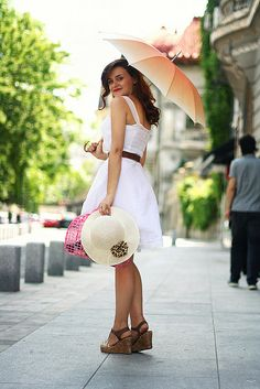 Photo Art, White Dress, Style Inspiration, My Style, Model, Outfits, Ideas, Dresses, Fashion