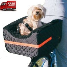 Bike Baskets and Trailers 46453: Dog Carrier For Bicycle Pet Basket Rider Bike Accessories Cat Care Supplies Gear -> BUY IT NOW ONLY: $169.03 on eBay!