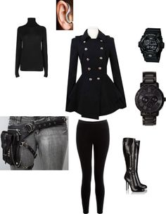 """""""secret agent"""" by sidnebutterfly ❤ liked on Polyvore"""