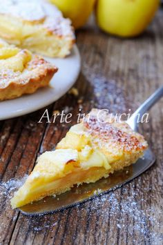 Apple Recipes, My Recipes, Sweet Recipes, Italian Pastries, Italian Desserts, Pie Dessert, Dessert Recipes, Pie Co, Torte Cake