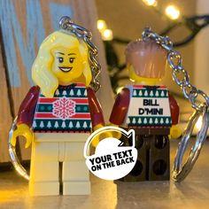 Lego Minifigure, Christmas Jumpers, Keys, You Got This, Christmas Ornaments, Holiday Decor, Key, Its Ok, Christmas Baubles