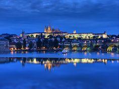 Prague Castle Blue Hour | Flickr - Photo Sharing!