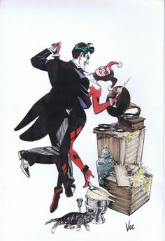Joker and Harley Quinn by Mike Vosberg