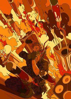"""丸千代 on Twitter: """"… """" Hetalia America, Group Art, Boy Pictures, Rap Battle, Photo Wall Collage, Manga, Anime Guys, Cool Art, Anime Art"""