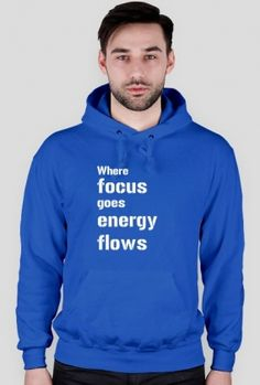 Where Focus Goes Bluse