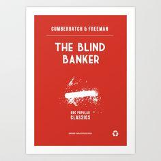 BBC Sherlock The Blind Banker Minimalist Poster Art Print by ofalexandra - $17.68