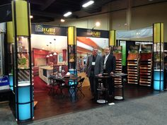 20ft Trade Show floor display designed by Commercial Graphics #CGI #TradeShow #LargeFormat #Printing