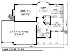 First Floor of Plan ID: 32546