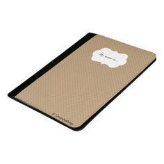 #gold - #Padfolio Gold with White Dots