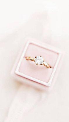 Velvet Ring Box  Luxe Velvet Ring Box  Ring Box  Engagement