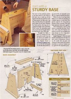 #989 Super Sawhorses Plans - Workshop Solutions