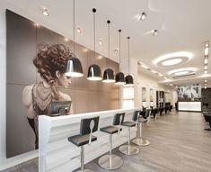 Dit is mijn droom salon, alle elementen die ik mooi vind komen in dit ontwerp samen. Strak en warm!