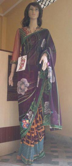 Latest pattern daily wear saree@700inr