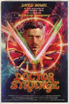 David Bowie as Doctor Strange - Peter Stults
