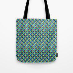 Positivity Peace Joy Happiness BLUE Tote Bag by Stonedreams53 | Society6