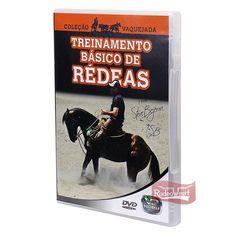 DVD Treinamento Básico de Rédeas p/ Vaquejada: Casa e Lazer