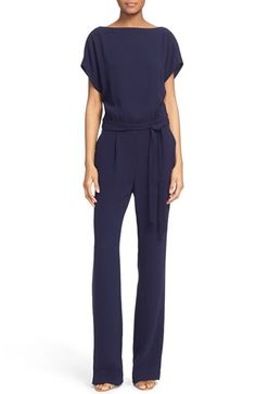 Free shipping and returns on Diane von Furstenberg Dolman Sleeve Crepe Blouson Jumpsuit at Nordstrom.com. Drapey dolman sleeves and…