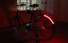 Revolights Arc bike brake lights. Smart!