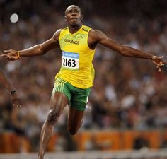 Usain Bolt. The most naturally gifted athlete this world has ever seen.