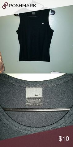 Nike dry fit athletic top Nike dry fit athletic top size small. Very good condition! Nike Tops Tank Tops