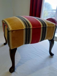 Upholstery by Carian Interiors Stools, Ottoman, Upholstery, Interiors, Chair, Storage, Furniture, Home Decor, Benches