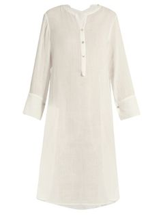 Algiers half-button cotton tunic dress | Loup Charmant | MATCHESFASHION.COM