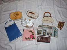 Lots of new inventory to list, Vintage Designer Purses from the 1950s and 1960s will be listed over the coming weeks, here is a quick preview on what's to come.....  Which one is your favorite?  #Vintage #Vintageclothin #Vintagefashion #Vintagestyle #Vintagepurse #vintagehandbag, #1960 #1960spurse #1960s handbag  #1960s purse #1960shandbag, #retropurse #retrohandbag #www.vintageclothin.com   #vintageshop #vintagestore #vintageshopping #vintageshop #forsale #buyme #1950 #1950s