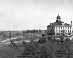 Arapahoe County courthouse at Littleton, Colorado, ca, 1909, by Edwin A. Bemis :: Western History
