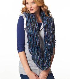 Blue Arm Knit CowlBlue Arm Knit Cowl