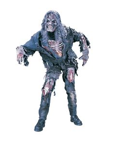 Zombie Deluxe 3D Kostüm | Zombie Kostüme günstig online kaufen | horror-shop.com #Zombie #ZombieCostume #Halloween #HalloweenCostume