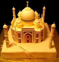 Cake Decorating Ideas | Project on Craftsy: Taj Mahal Wedding Cake