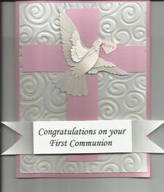 reserved for agood2 A beautiful First Communion card by cardcapers