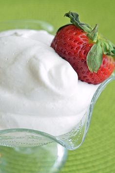 strawberry and mint cream chargers dessert - yummly!