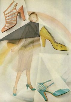 1950s shoes . #vintage #fashion #1950s #shoes