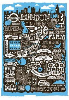 sophiehenson.blogspot.fr Sérigraphie London