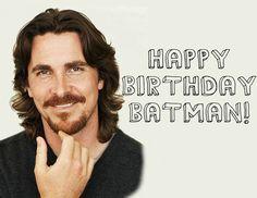 30th Jan Happy Birthday Christian Bale