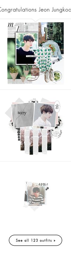 """""""Congratulations Jeon Jungkook"""" by aurora-lynn-love ❤ liked on Polyvore featuring Whiteley, GET LOST, Levi's, Chicnova Fashion, adidas, Coach, WALL, Munro American, art and untrue"""